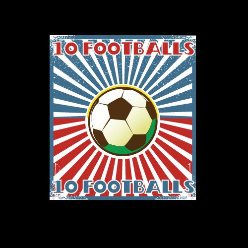 10 Footballs