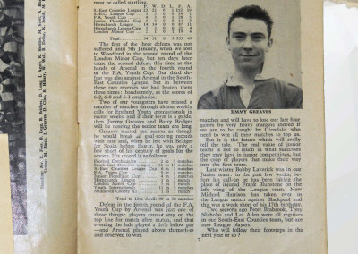 Jimmy Greaves Early Career Spread 28