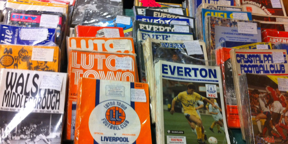 How to Look After Your Football Programme Collection