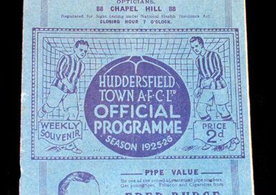 Huddersfield v Sheffield United 16.01.1926