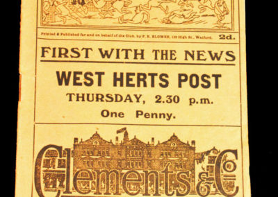 Watford v Charlton 10.04.1926