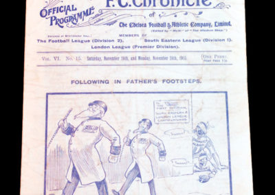 Chelsea v Hull 26.11.1910 QPR v Swindon 28.11.1910