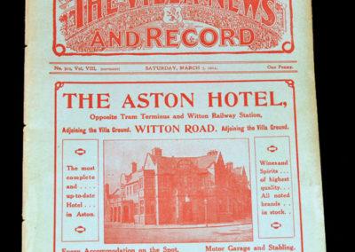 Ordnance v Birmingham 07.03.1914