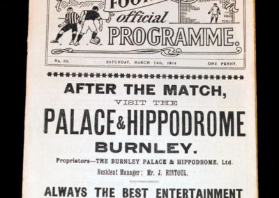 Burnley v Liverpool 14.03.1914