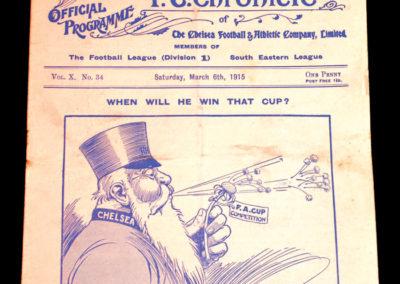 Chelsea v Newcastle 06.03.1915