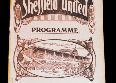 Sheffield United v Bradford 07.12.1918