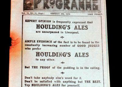 Liverpool v Bolton 04.02.1920