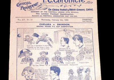 Chelsea v Bradford City 04.02.1920