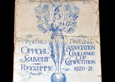 FA Cup Final - Spurs v Wolves 23.04.1921