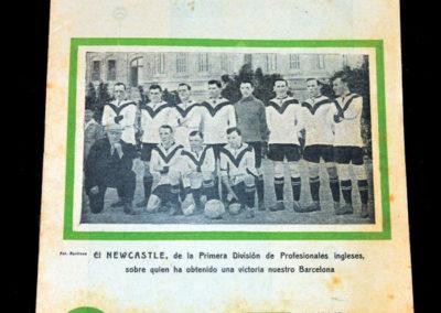 Barcelona v Newcastle 23.05.1921