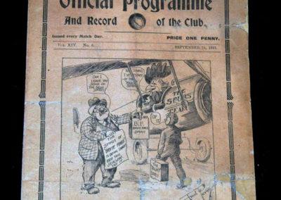 Spurs V Aston Villa 24.09.1921