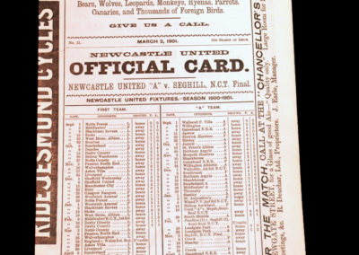 Newcastle v Seghill 02.03.1901