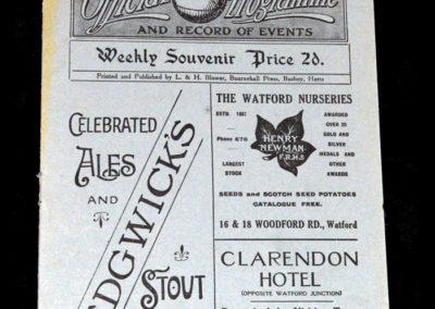 Watford v QPR 03.12.1921