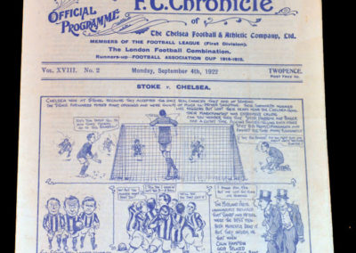 Chelsea v Stoke 04.09.1922