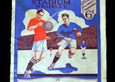 FA Cup Final - Cardiff v Arsenal 23.04.1927