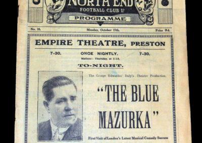 Preston v Bolton 17.10.1927