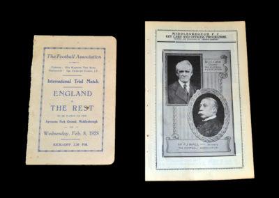 England v The Rest 08.02.1928