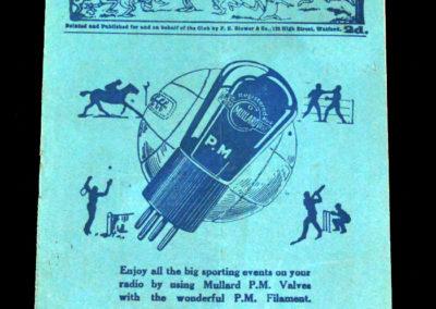 QPR v Northampton 14.04.1928