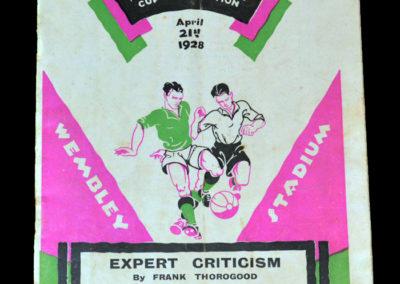 FA Cup Final - Blackburn v Huddersfield 21.04.1928
