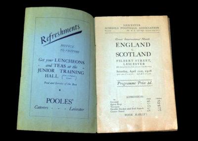 England v Scotland 21.04.1928