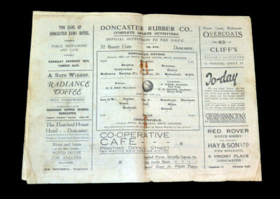 Doncaster v Chesterfield 15.9.1928
