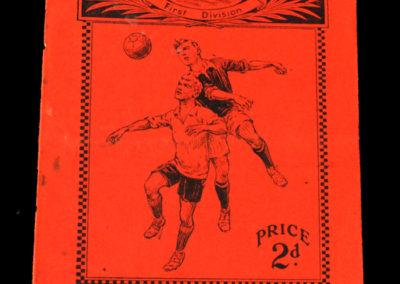 Arsenal v Sheffield United 10.11.1928