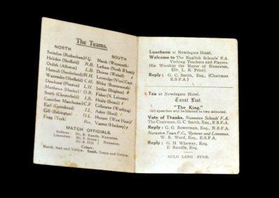 North v South Schoolboys 23.02.1929 - Stanley Matthews