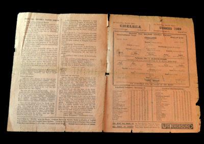 England v The Rest 11.03.1929 (International Trial at Spurs)
