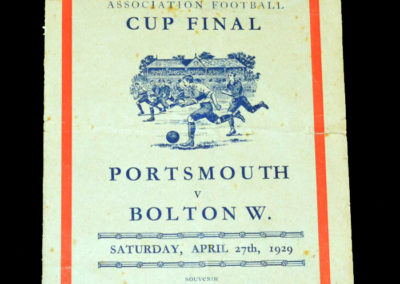 FA Cup Final Bolton v Portsmouth 27.04.1929 -Pirate