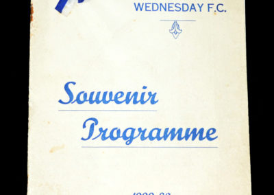 Sheffield Wednesday v Arsenal 07.09.1929