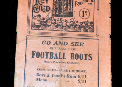 Middlesbrough v Leicester 28.09.1929