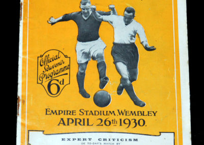 FA Cup Final Arsenal v Huddersfield 26.04.1930