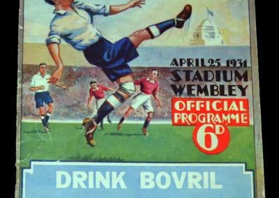 FA Cup Final Birmingham v West Brom 25.04.1931