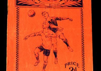 Arsenal v Aston Villa 31.10.1931