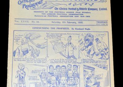 Chelsea v Leicester 06.02.1932