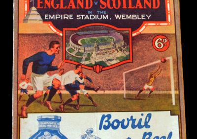England v Scotland 09.04.1932