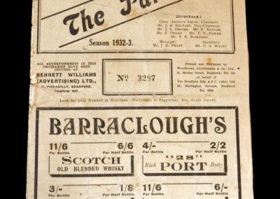 Bradford v Stoke 24.12.1932