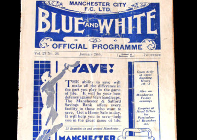 Man City v Walsall 28.01.1933