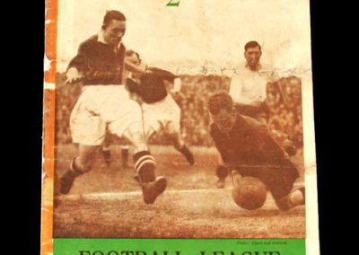 English League v Irish League 04.10.1933