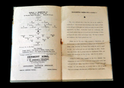 Earle v Everton A 07.10.1933