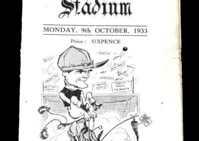 Boxers v Jockeys at West Ham 09.10.1933