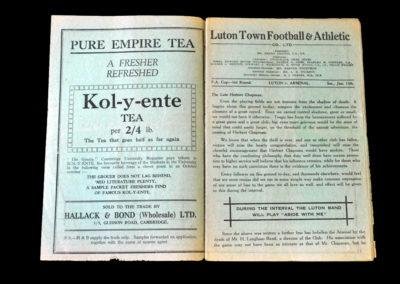 Luton v Arsenal 13.01.1934