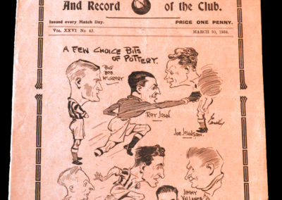 Spurs v Stoke 30.03.1934