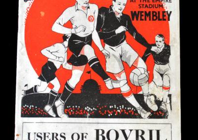 England v Scotland 14.04.1934