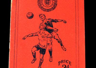 England Schools V Scotland Schools 12.05.1934