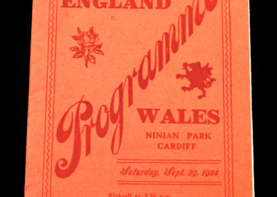 Wales v England 29.09.1934 Stanley Matthews debut