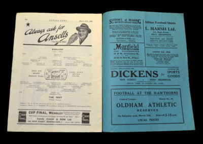 England v The Rest 27.03.1935