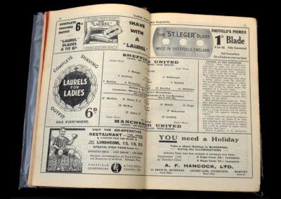 Sheffield Utd v Manchester Utd 01.09.1934