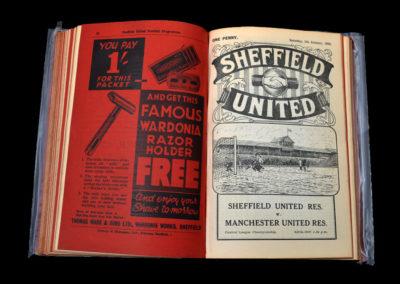 Sheffield Utd Res v Manchester Utd Res 05.01.1935