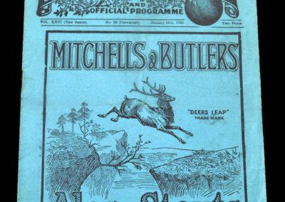 West Brom V Sheffield Utd 26.01.1935